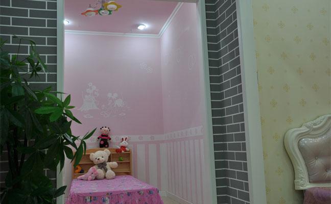 儿童卧室-儿童房-工程实例-硅藻泥-石家庄亚皇硅藻泥
