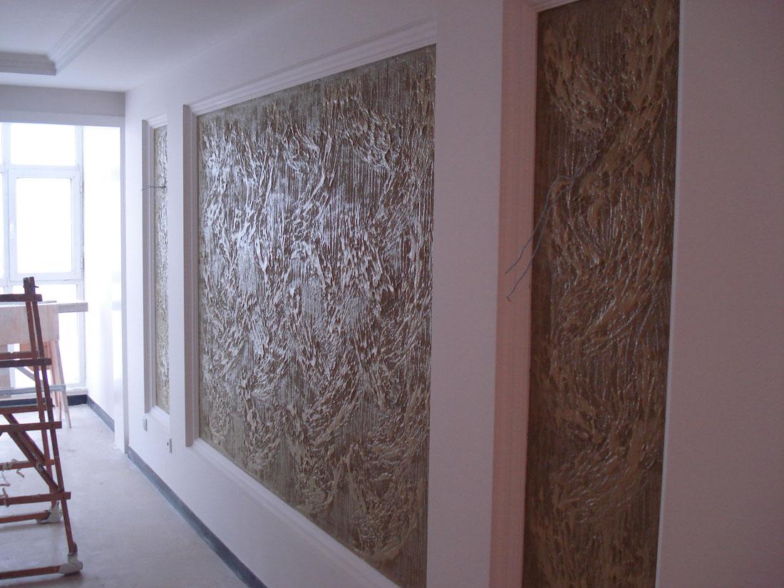 硅藻泥电视墙矢量图; 亚皇硅藻泥背景墙效果图